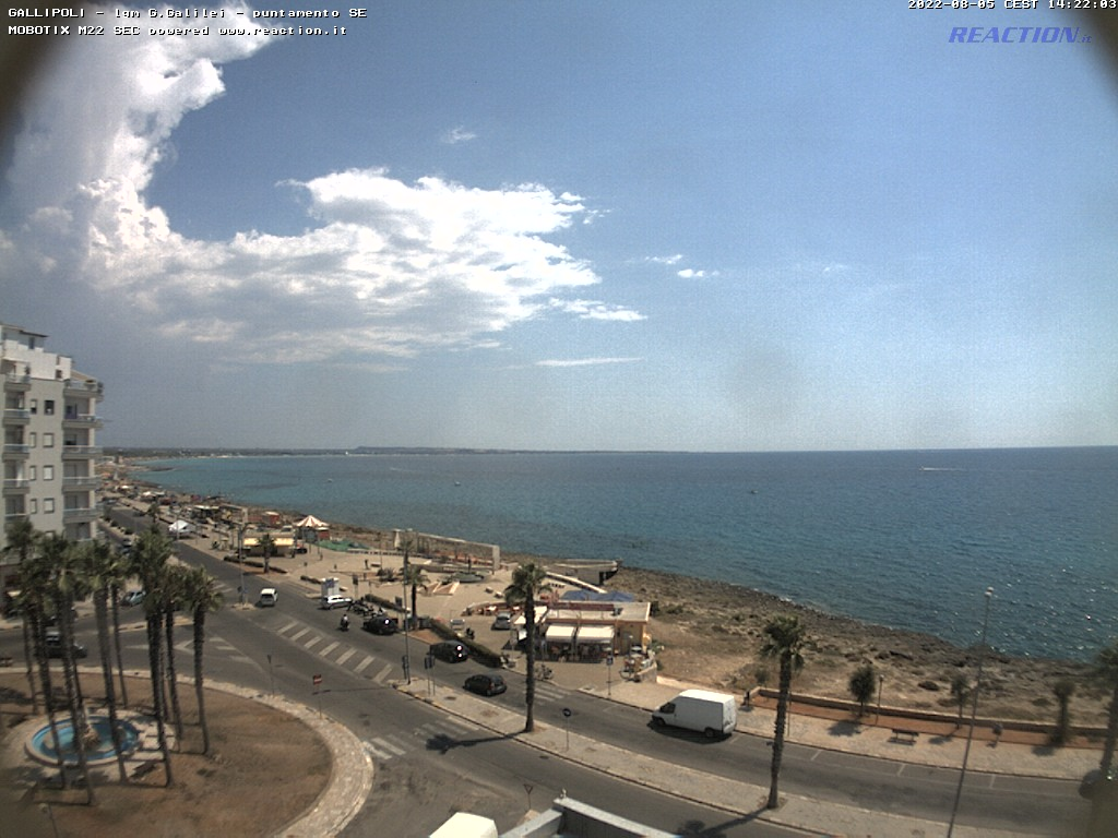 Webcam Gallipoli - Gallipoli Meteo