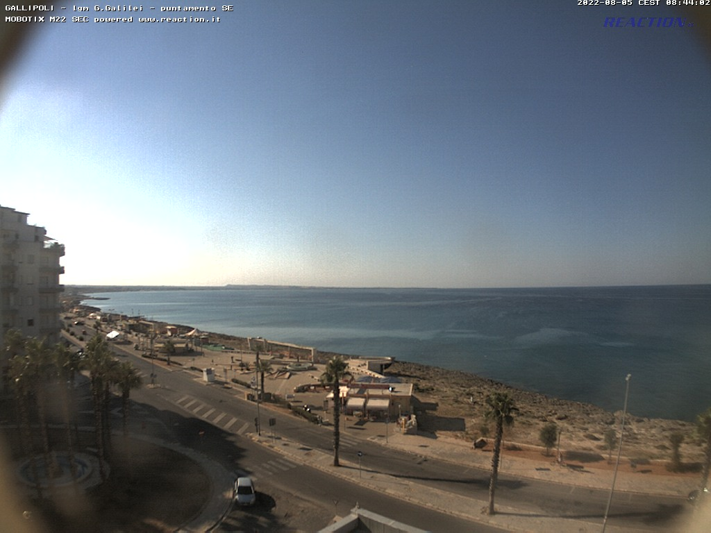 WEBCAM 1 - Vista panoramica sul mare - Gallipoli